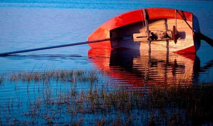 What should you do if you Capsize, Swamp, or Fall Overboard?