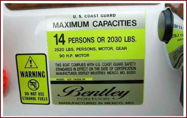 How Does The Capacity Plate Look Like?